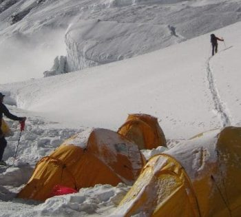 Camping Manaslu expedition