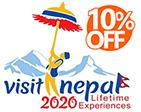Visit Nepal 2020 10% OFF