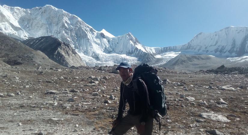 Near Dragnag (4650m/15252ft)