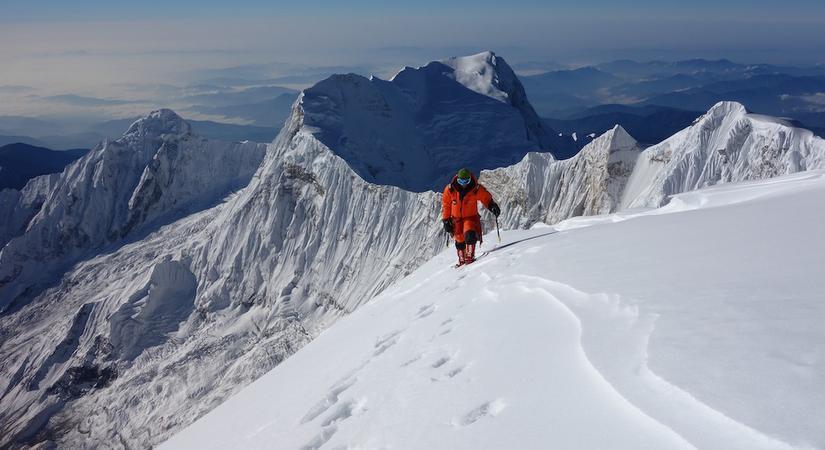 Climbing Mt. Annapurna South