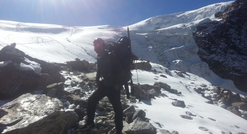 Near Bokta Peak High Camp [5720m/18762ft]