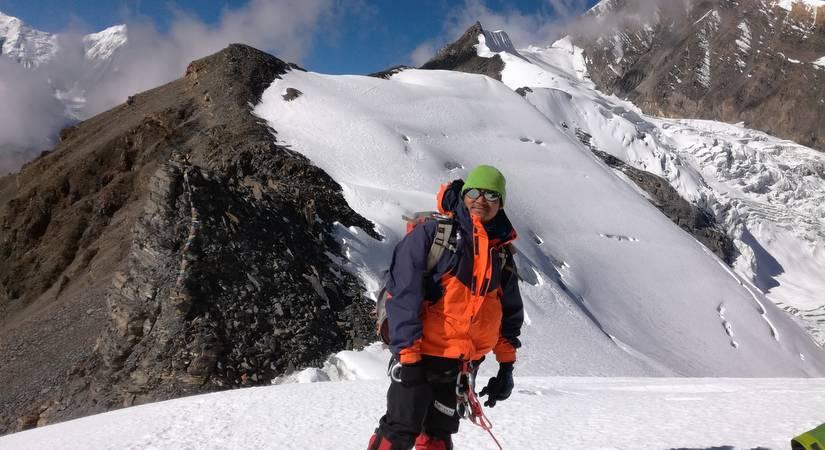 Our Guide Dendi Sherpa at Chulu- East