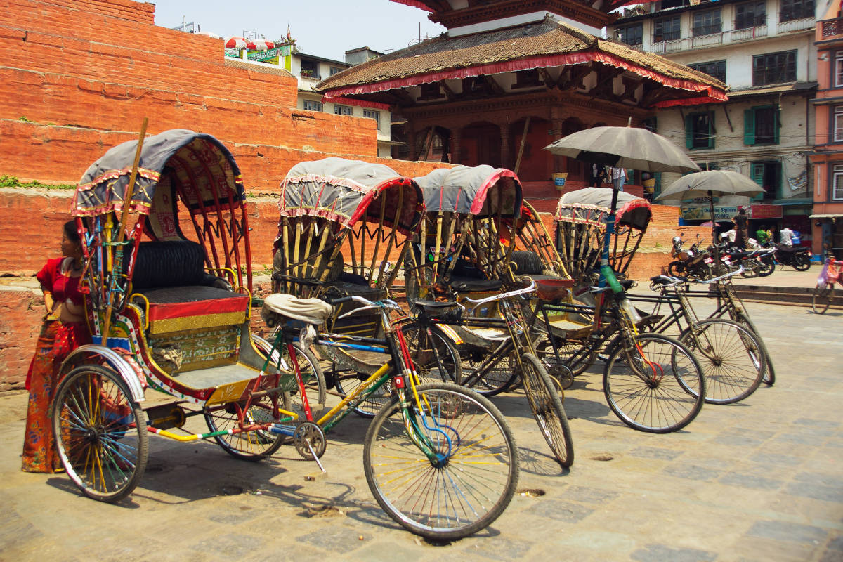 Transportation of Cycle Rickshaw