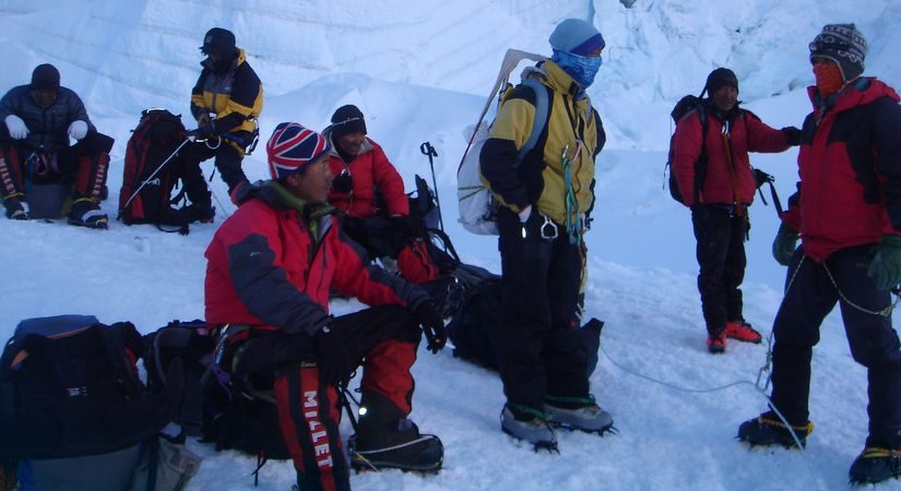 After Successful Summit of Mt.Himlung (7126m/23345ft)