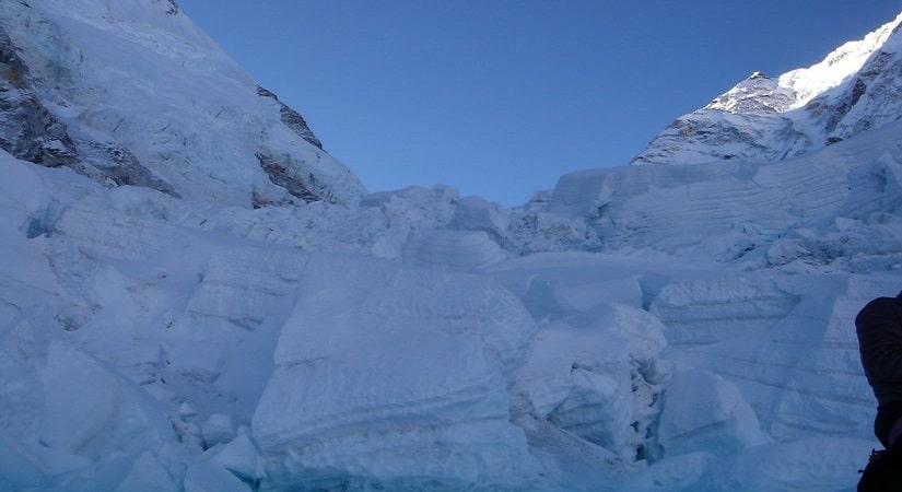 Khumbu Glacier- World's highest glacier