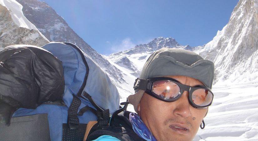 Our High Mountain Climber Guide Ang Dawa Sherpa at South Col