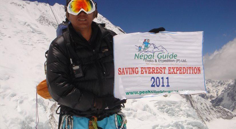 Successful Summit of Everest (8848m/29021ft)