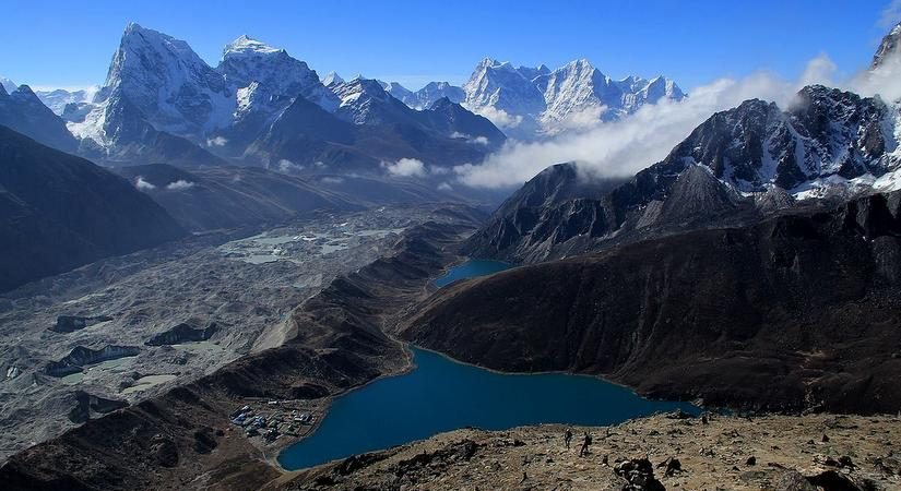 World's highest freshwater lake