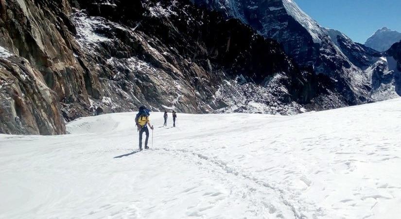 Ascending Climb to Chulu Far East Summit <br> (6059m/19874ft)
