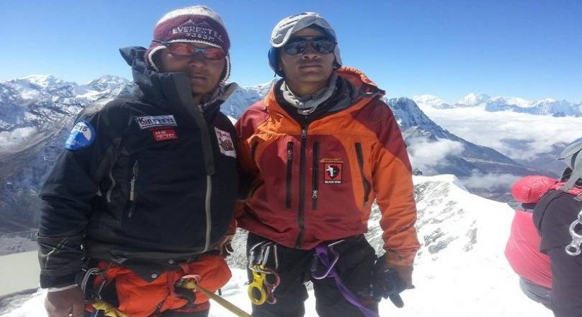 Successful Summit of Kyajo Ri Peak (6186m/20290ft)