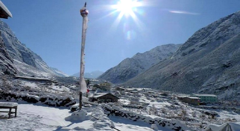 View from Langtang Valley
