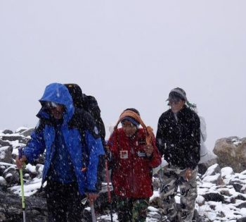 Langtang Lirung Expedition