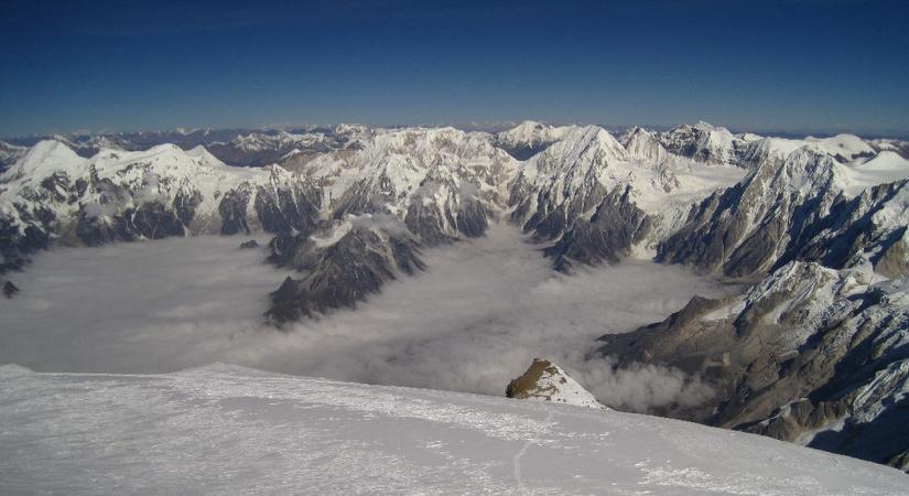 View from Manaslu Expedition