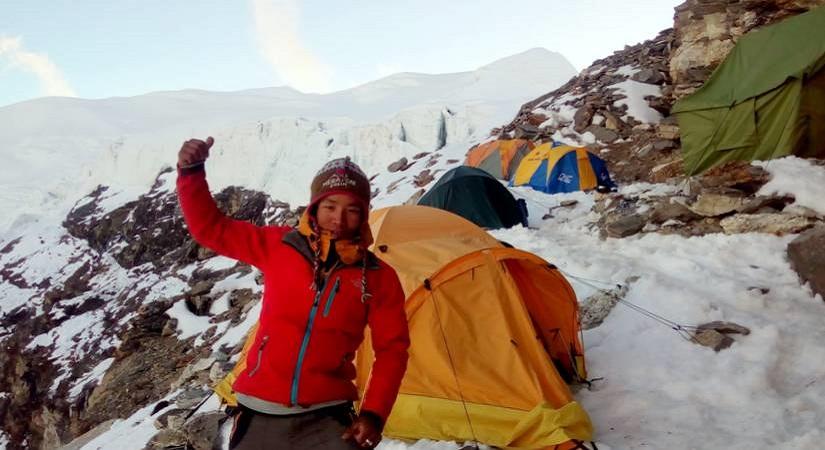 Tented Camp at Mera High Camp