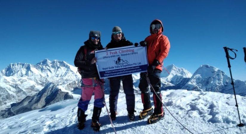 Mera Peak Amphu Lapcha La Pass   Mera Peak Summit 6476m