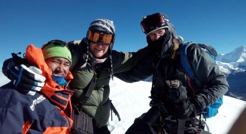 Mera Peak (6461m) Summit