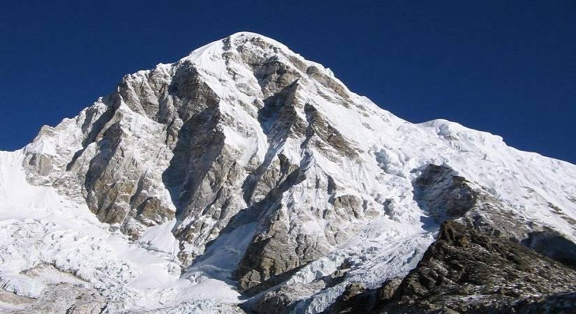 Close view of Mt. Pumori