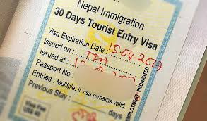 Nepal Visa Requirements for tourist