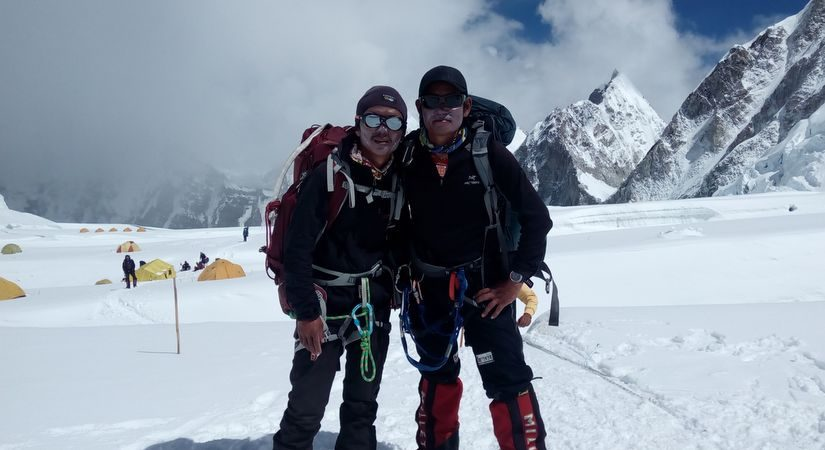 Picture Taken Near High Camp I
