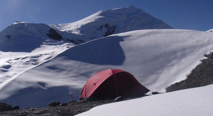 Tented Camp near Drolambu Glacier (4880m/16006ft)
