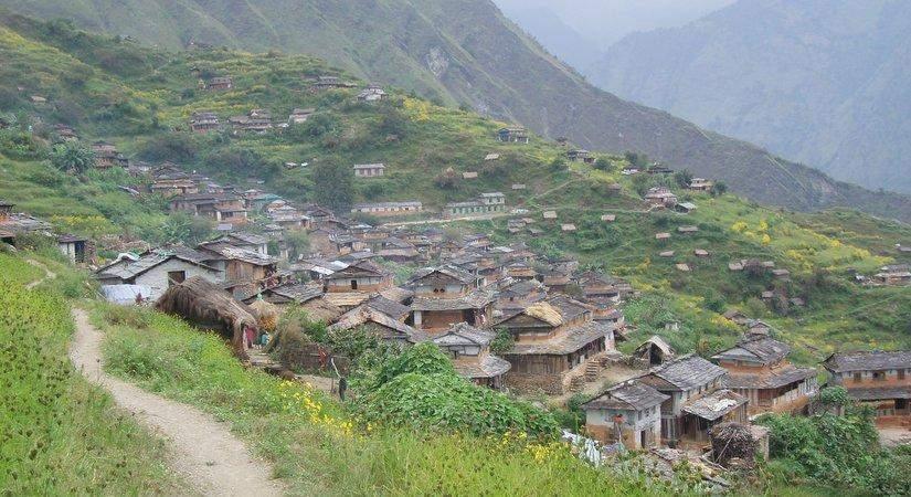 Beautiful Dharapani Village