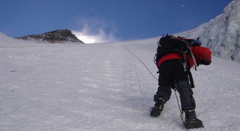 Climbing to Conquer Mount Kang Guru