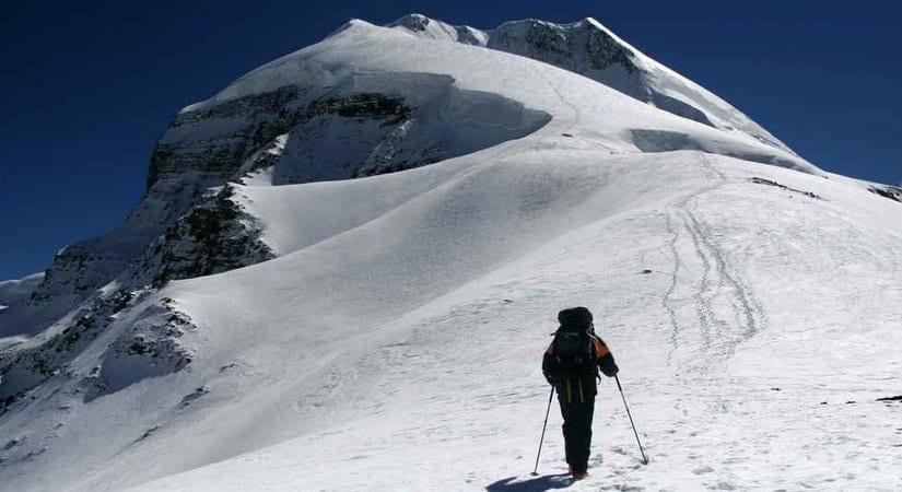 Heading Towards Tukuche Peak Summit