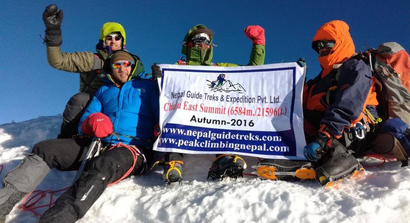 Chulu East Summit (6584m/2159ft)