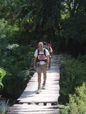 dhampus peak climber