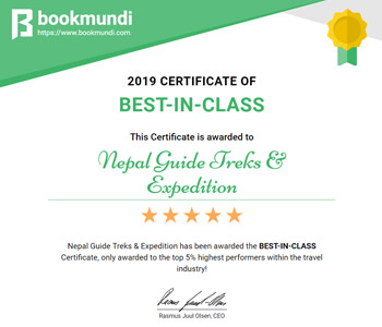 Bookmundi Certificate