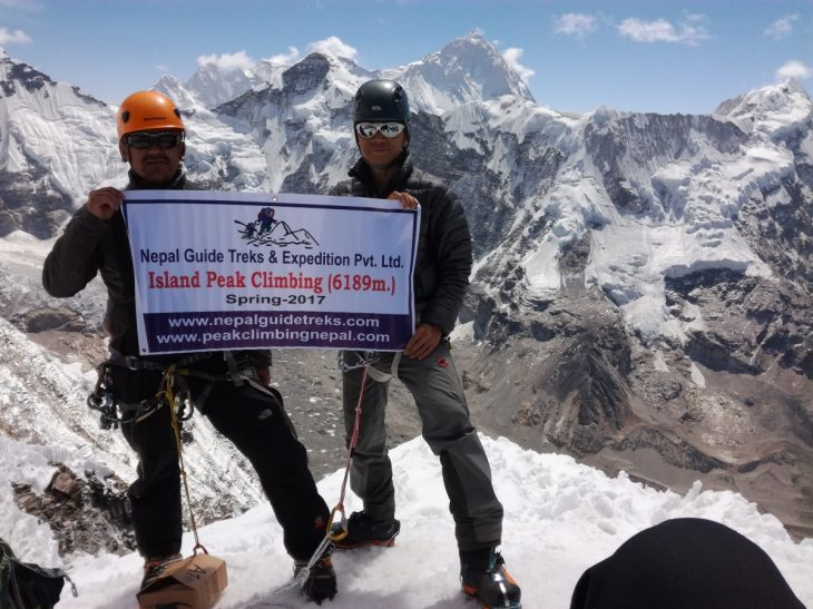 How is Mera Peak versus Island Peak?